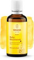Массажное масло от вздутия животика у младенцев Weleda 50 мл