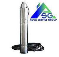 Погружной глубинный насос для скважины и колодца  4 QGD