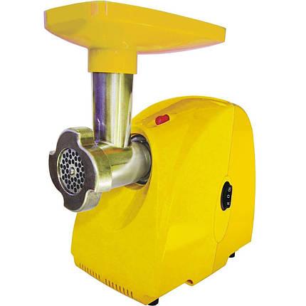 Мясорубка электрическая Белвар КЕМ-П2У (модель 302-07 желтый), фото 2