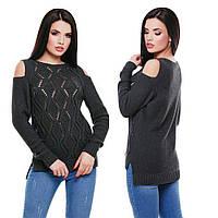 Вязаный свитерок Ромбики, в расцветках, фото 1