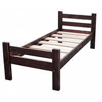 """Кровать """"Под старину"""" 160х200 простая из дерева. Производство мебели. Кровати для гостиниц и отелей. Оптом"""