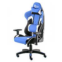 Компьютерное кресло для геймера Special4You ExtremeRace-3 black/blue (E5647)