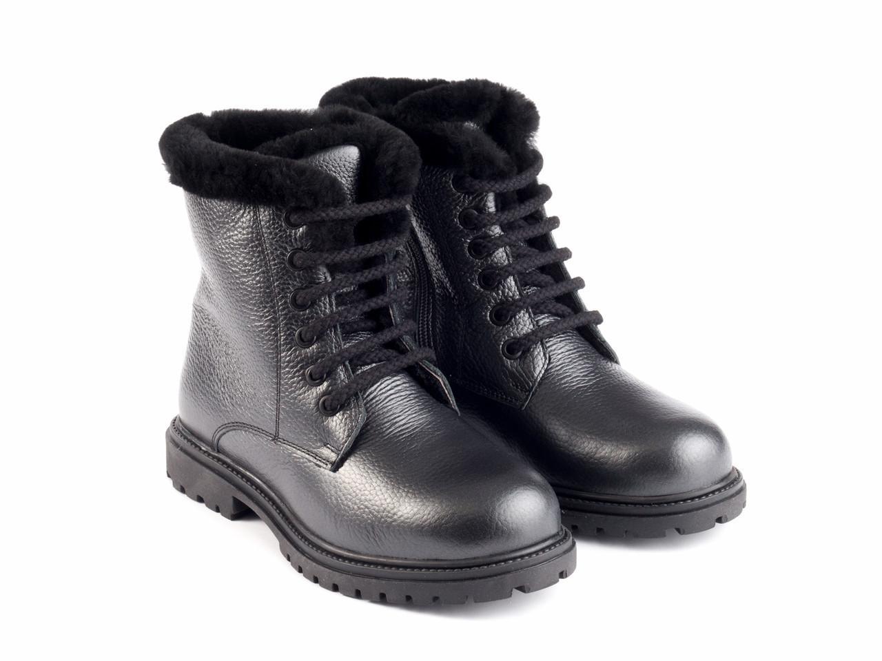 Ботинки Etor 6484-2298-14173 39 черные