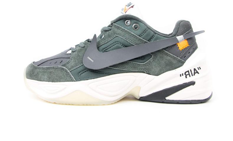 9033c359 Мужские кроссовки Off-White x Nike Air Monarch the M2K Tekno Dark Gray