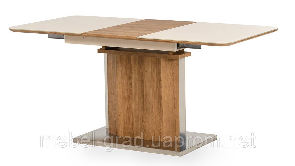 Стол обеденный (раскладной) TML-525 Vetro Mebel дуб натуральный