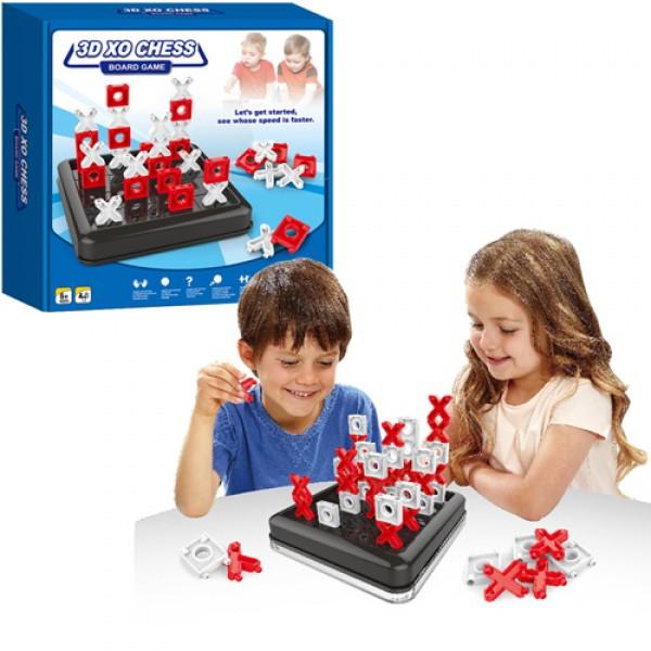 Настольная игра 3D XO CHESS, крестики нолики