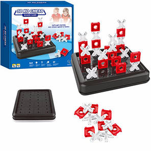 Настольная игра 3D XO CHESS, крестики нолики, фото 2