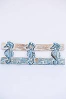 Вешалка Якорь размер 50*20 см 4 крючка