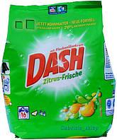 Универсальный стиральный порошок Dash Zitrus-Frische 1,04 кг с цитрусовым ароматом, Германия
