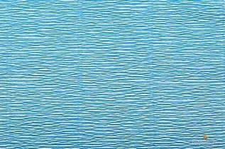 Уценка. Креп бумага голубая товар с витрины
