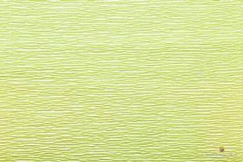 Креп бумага  светло-зеленая