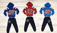 Спортивный костюм с начесом для мальчиков на рост 86-92