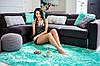 Плюшевий килим Шаггі 200x140 м'ятний, фото 2