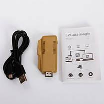 TS-02 Full HD 1080P EZCast Miracast Wi-Fi дисплей ключ w / Dlna / Miracast / AirPlay - Золотий, фото 3