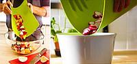 Кухонная гибкая разделочная доска набор (4шт), Разделочные доски