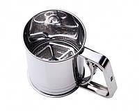 Кружка-сито механическая с двойным ситом BAO LONG 300г, Кухонные принадлежности