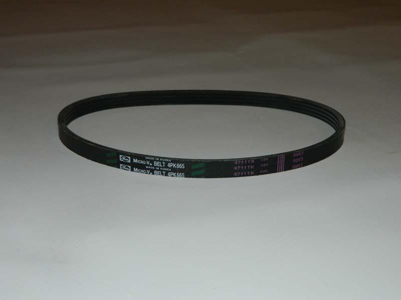 Ремень генератора MATIZ II 1.0, AVEO 1,2 SOHC (10*665)  4РК665 GATES Корея