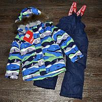 Раздельный зимний комбинезон Reime (аналог Reima) для мальчика 104-110р, фото 1