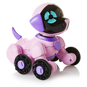 WowWee маленький интерактивный щенок Чип розовый W2804/3817
