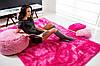Ковер плюшевый Шагги 200x140 розовый, фото 2