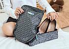 Органайзер для обуви в ромбики M Square (L) (серый), фото 7