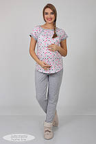 Пижама для беременных и кормящих Юла Maмa Relax арт. NW-5.5.1