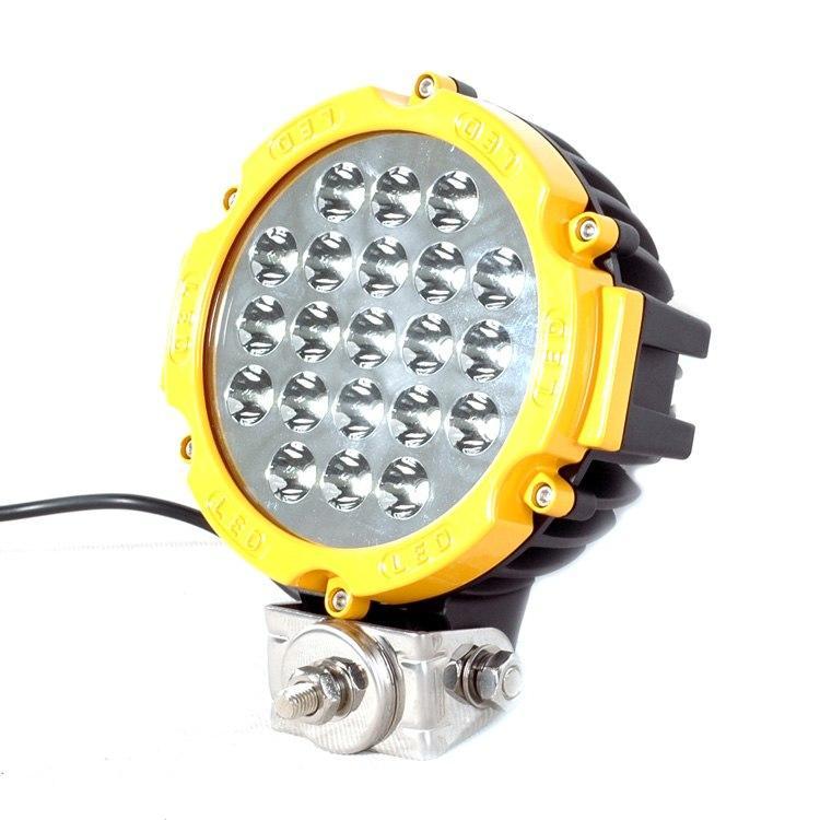 Светодиодная LED фара 63W, 5040lm
