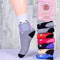 Детские махровые носочки для девочки Корона С3215 31-36, фото 1