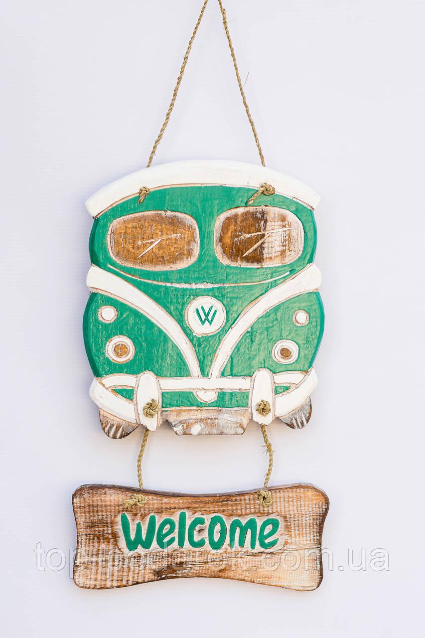 Фольксваген настенный декоративный деревянный