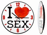 Часы настенные I love sex, Годинники настінні I love sex