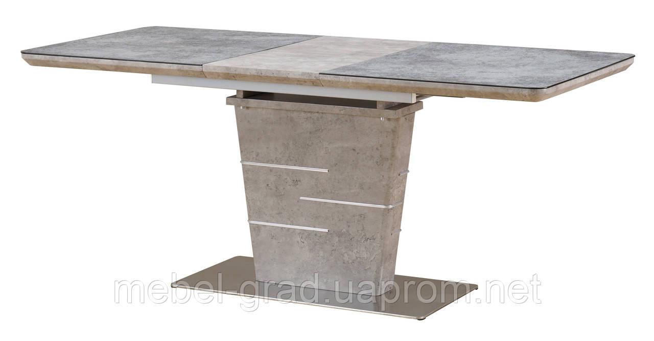 Стол обеденный (раскладной) TML-540 Vetro Mebel бетон