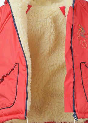 Утеплений красивий дитячий зимовий комбінезон унісекс, фото 3
