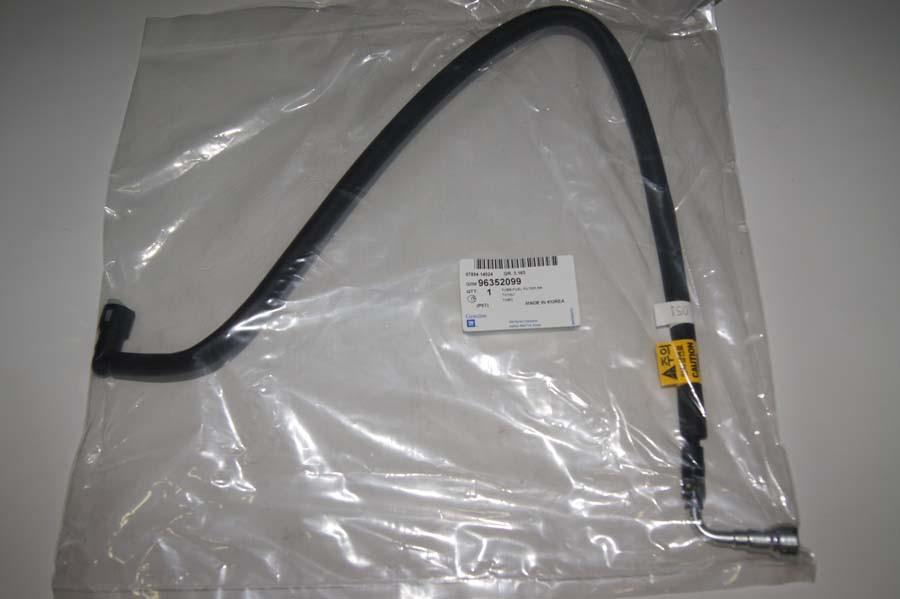 Трубка к топливному фильтру задняя Ланос GM Корея (ориг)