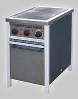 Электрическая плита ПЭ-2ШЧ на 2 конфорки с духовкой