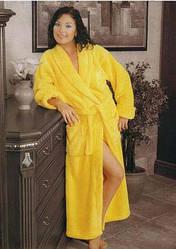 Женский длинный домашний халат