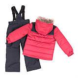 Зимний комплект для мальчика PELUCHE F18 M 63 EG Really Red / Deep Gray. Размеры 3-8., фото 2