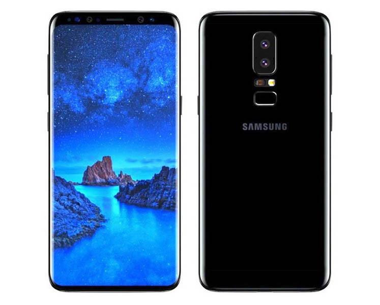 "Смартфон Samsung Galaxy S9 Plus SM-G965 6/64GB Midnight Black, 12+12/8Мп, 6.2"" AMOLED, 2sim"