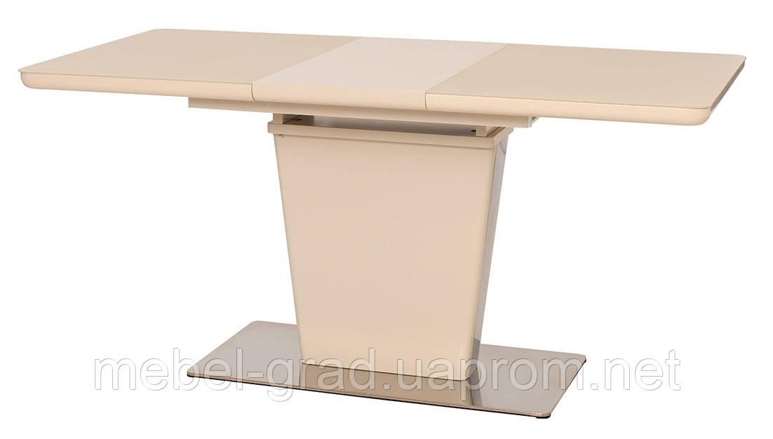 Стол обеденный (раскладной) TML-555-1 Vetro Mebel бежевый