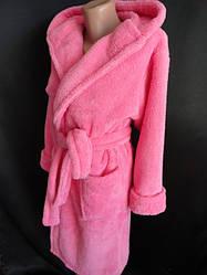 Женские молодежные халаты махровые оптом
