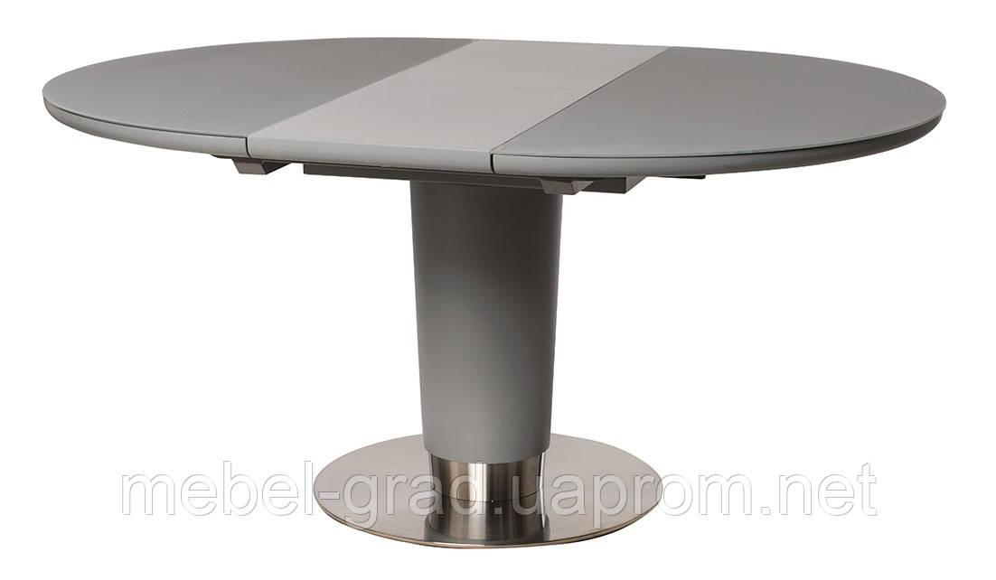 Стол обеденный (раскладной) TML-518 Vetro Mebel серый