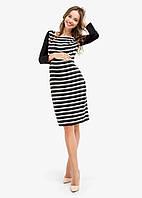 Платье для беременных и кормящих Creative Mama Stripe, фото 1