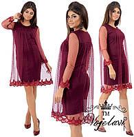 85dfaf09d3f Платье с кружевами дайвинг оптом в Украине. Сравнить цены