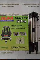 Лазерний Нівелір AL-FA ALNL02, 50 м луч, Штатив
