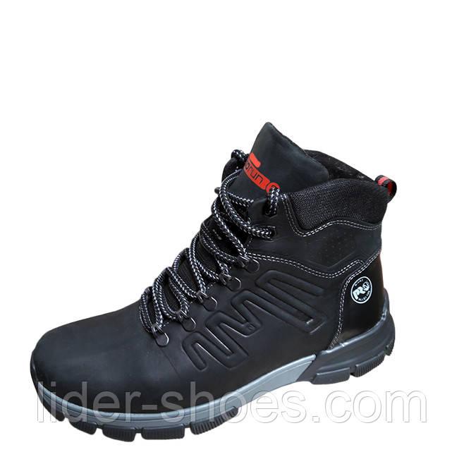 Зимние мужские ботинки натуральная кожа