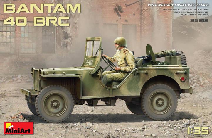 Збірна модель американського військового автомобіля БАНТАМ 40 БРЦ. 1/35 MINIART 35212, фото 2