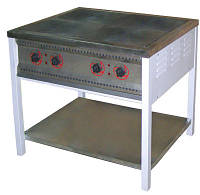 Электрическая плита ПЭ-4Ч без жарочного шкафа