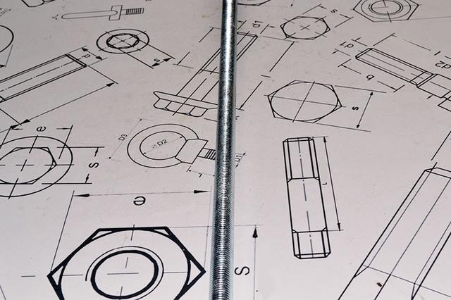 Шпилька резьбовая DIN 975 - купить