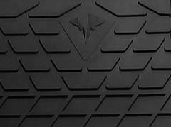 RENAULT Magnum 2001-2013 Водительский коврик Черный в салон (7607)