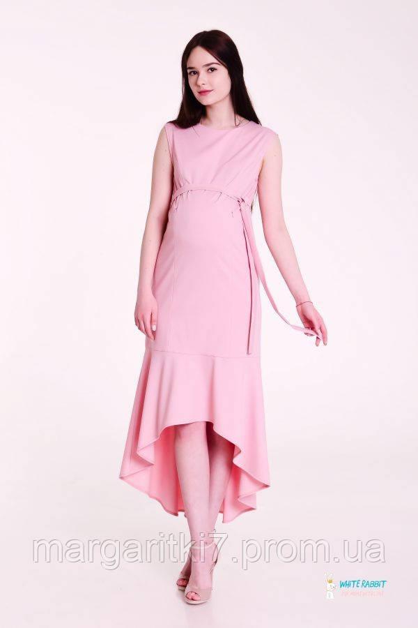 Платье для беременных и кормящих White Rabbit Wild orchid нежно-розовое