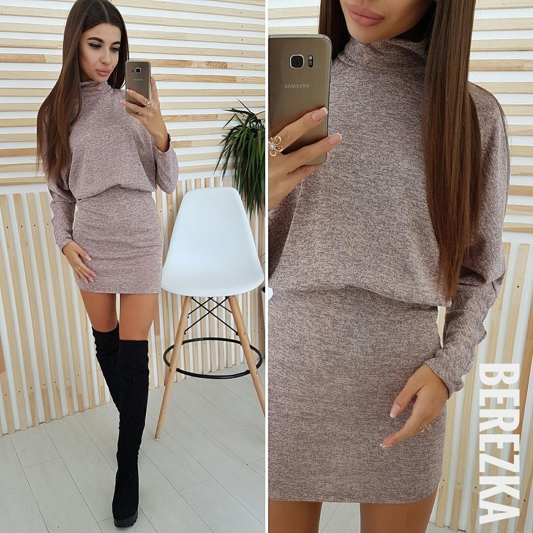 ec8ea5ade36 Модное женское платье (ангора софт